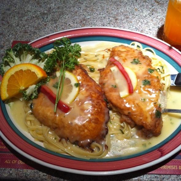 Chicken Franchaise @ Edison Diner