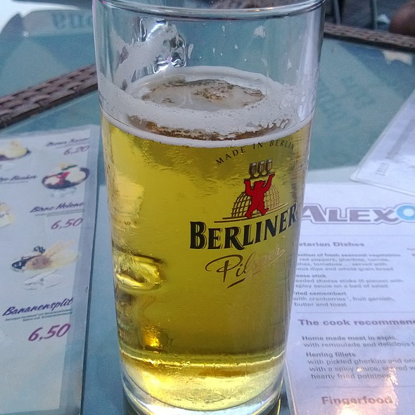 Berliner Pilsner @ AlexOase Bubble Tea