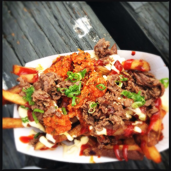 Gamja Fries @ Namu (Ferry Building Farmer's Market)