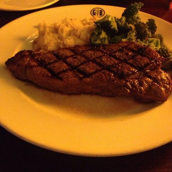 New York Strip - Gordon Biersch Brewery Restaurant - Plano, Plano, TX