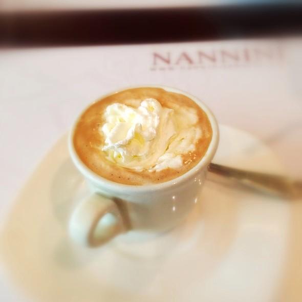 Espresso Con Panna @ Nannini Grill