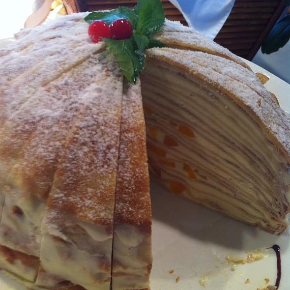 Layered Crepe Cake @ Woodside Restaurant @ Parkyard Hotel Shanghai
