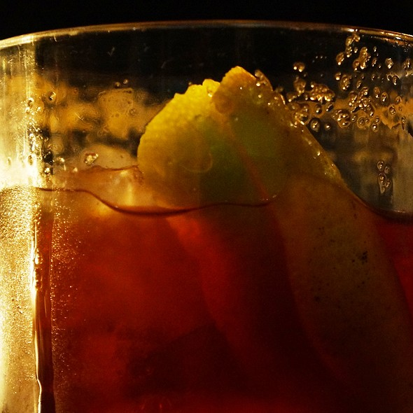 ron fashioned @ Gran Bar Danzon