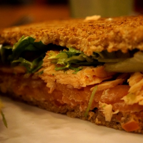 Salmon Sandwich @ Grand Cafe