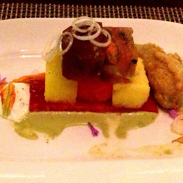 Heirloom Tomato Salad - RAYA at The Ritz-Carlton, Laguna Niguel, Dana Point, CA