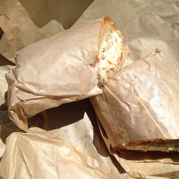 Menage A Trois Sandwich @ Ike's Place
