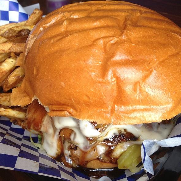 The Hawaiian Burger @ Little Bitty Burger Barn