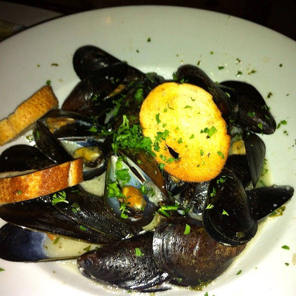 Steamed Mussels - Morels French Steakhouse & Bistro (at The Grove), Los Angeles, CA