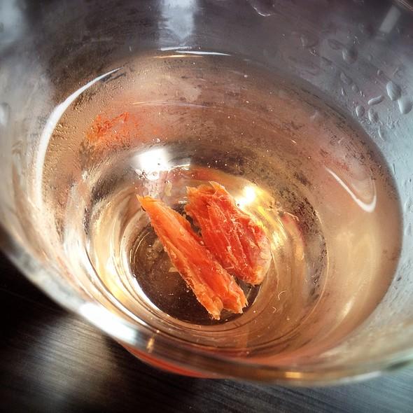 Smoked Salmon Martini @ Chinooks Waterfront Restaurant