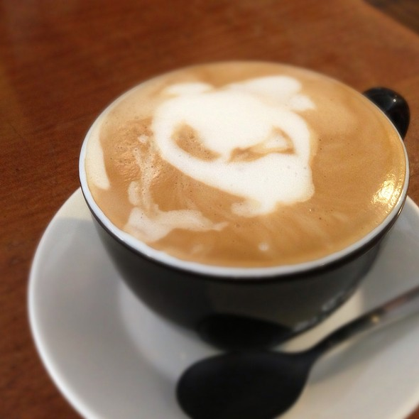 Cafe Latte @ Cafe Bastille