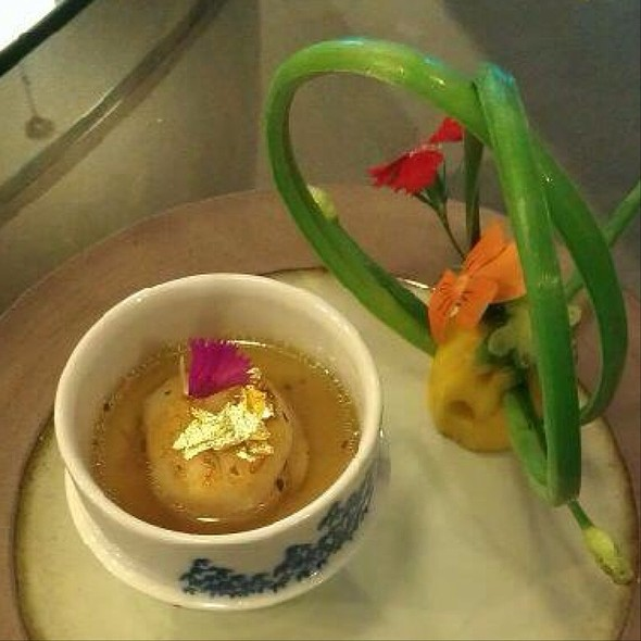 Fish Consommé @ Woodside Restaurant @ Parkyard Hotel Shanghai