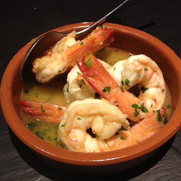 Prawns In Garlic, Cider And Herbs @ Social Eating House and Bar