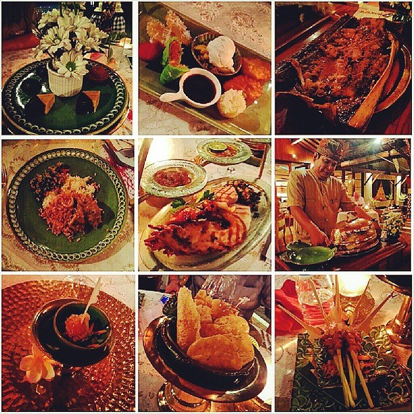 That dinner was LEGEN-wait for it........ *burp* @ Raja's Balinese Cuisine