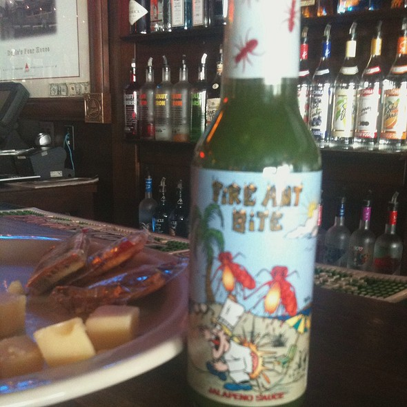 Fire Ant Juice & Fire Ant Bite Gourmet Hot Sauces @ Doyles Pour House