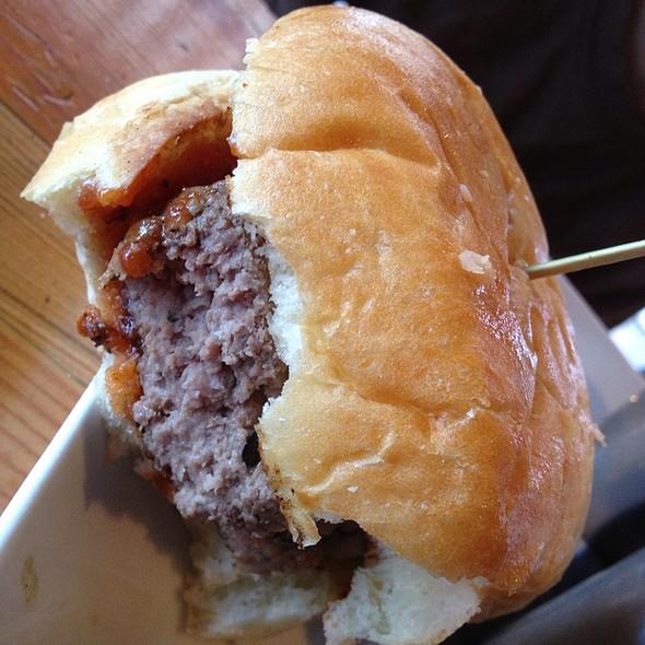 Hamburger - Edible Canada at the Market, Vancouver, BC