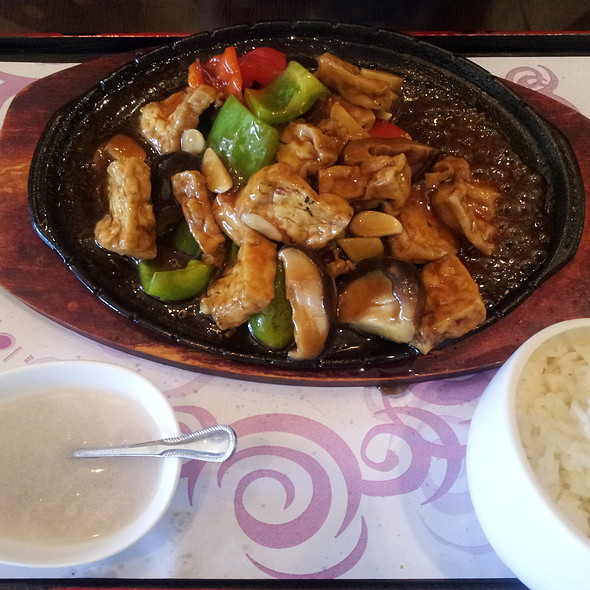 Sizzling Plate Tofu @ Cafe 101