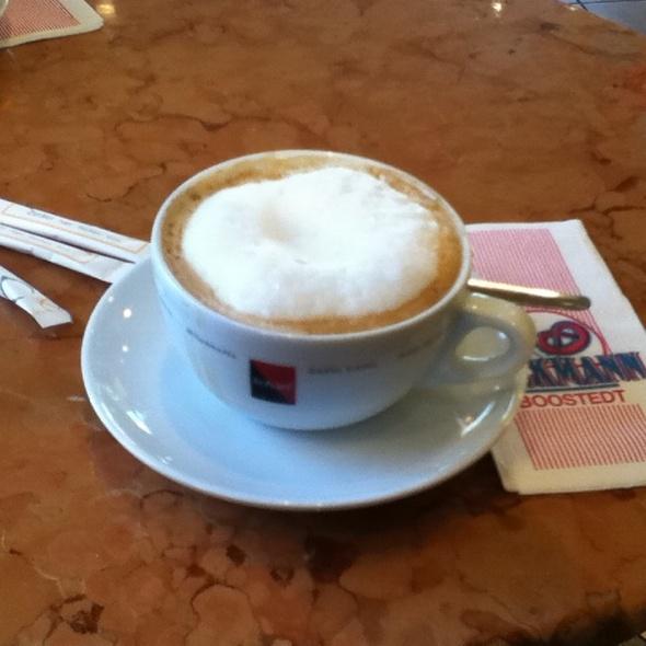 Milchkaffee @ Bäckerei Hans-Jürgen Tackmann