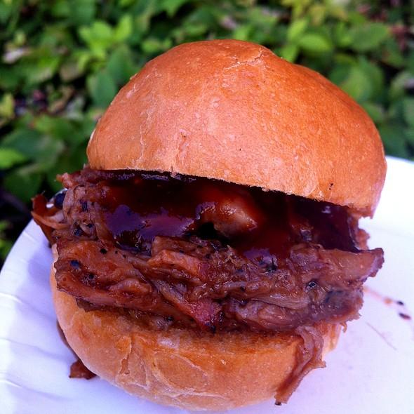 Mini Bbq Pork Sliders @ Jerry's Sandwiches