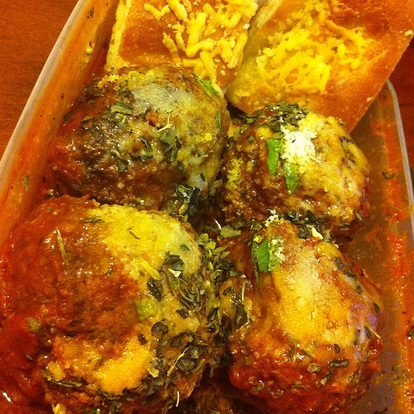 Veal Meatballs With Focaccia