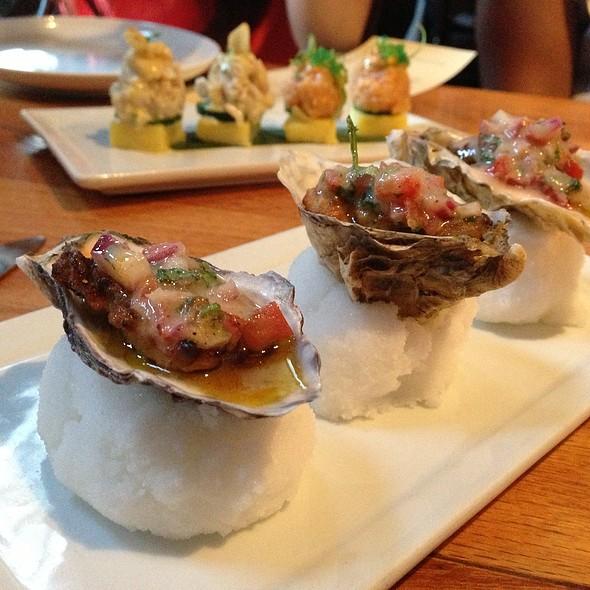 Oysters A La Chalaca @ Picca Peru