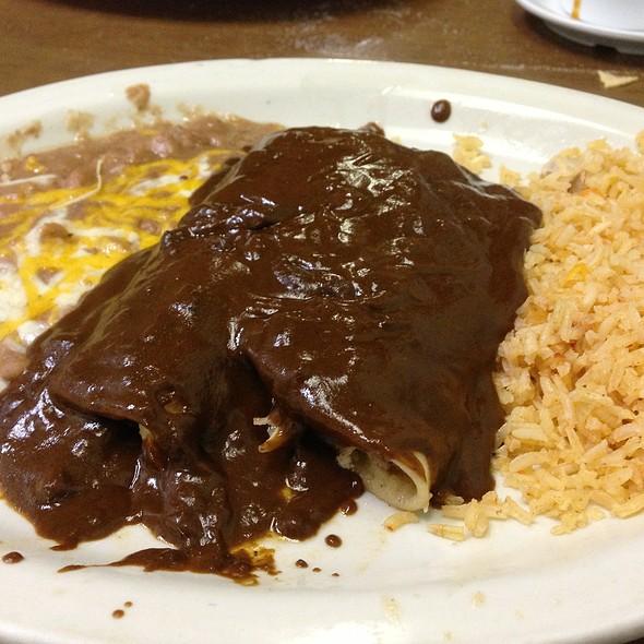 Enchiladas Mole  @ Mi Casa