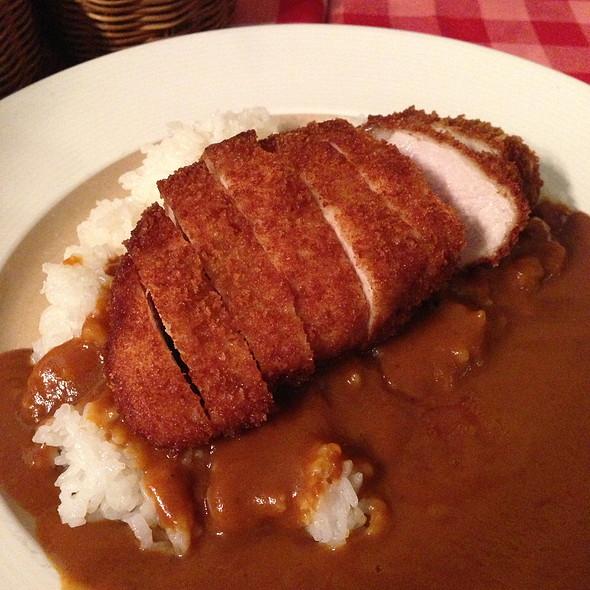 Pork Cutlet Curry @ Cafe Hiro