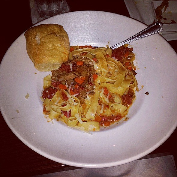 Duck Papparelle Pasta @ 75th Street Brewery