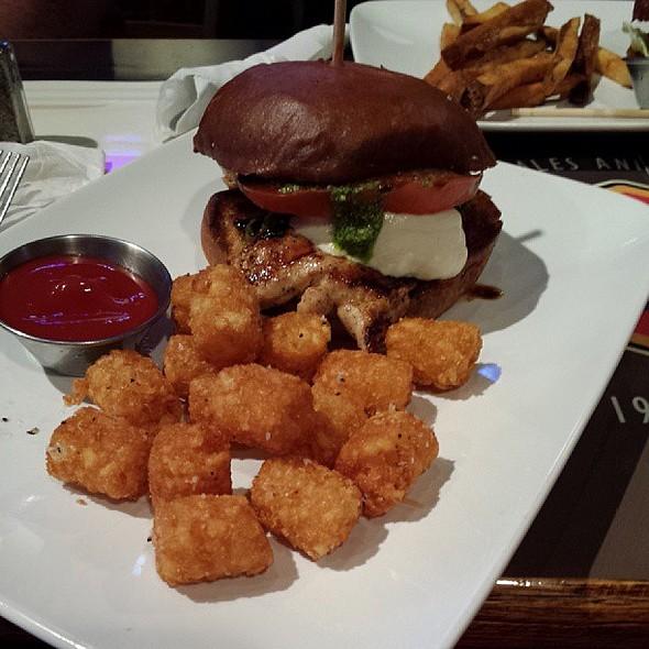 Chicken Caprese Sandwich @ the BURG & BARREL