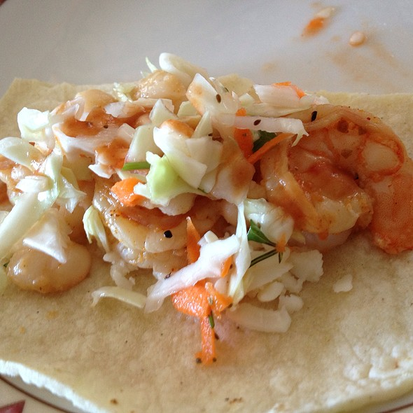 shrimp taco @ Home