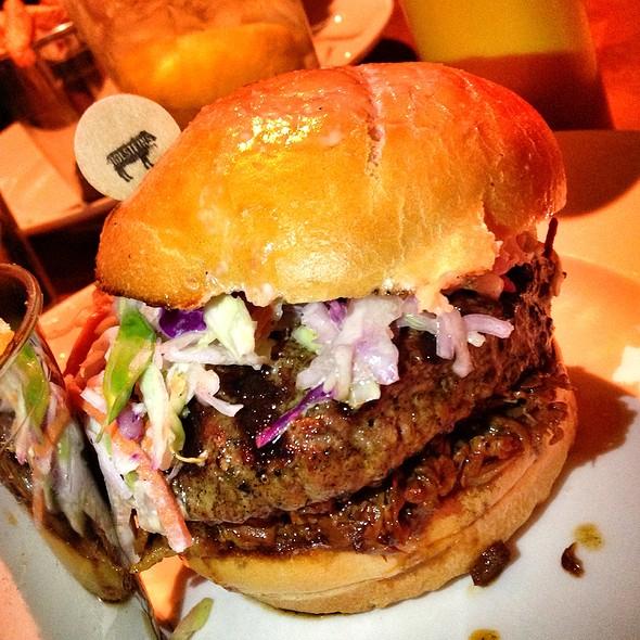 The Longhorn Burger (Beef Brisket) - Holsteins - The Cosmopolitan of Las Vegas, Las Vegas, NV