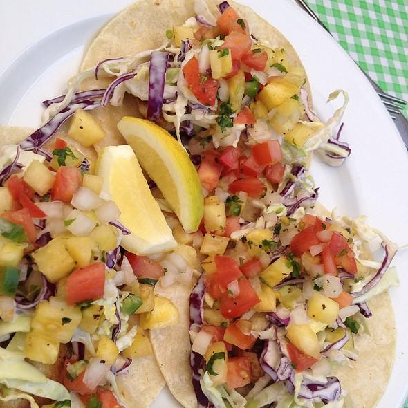 fish tacos - Napa General Store, Napa, CA