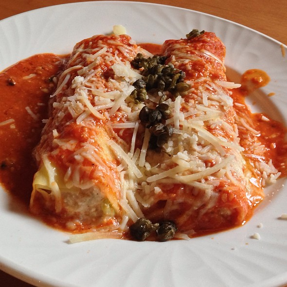 Seafood Cannelloni With Fried Capers - Cafe Carlo, Winnipeg, MB
