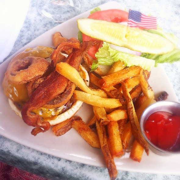 BBQ Bacon Cheeseburger  - Stonebridge Restaurant, Milford, CT