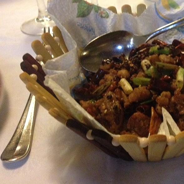 Pollo Piccante Peperoncini Aglio Zenzero E Pepe Di Sichuan