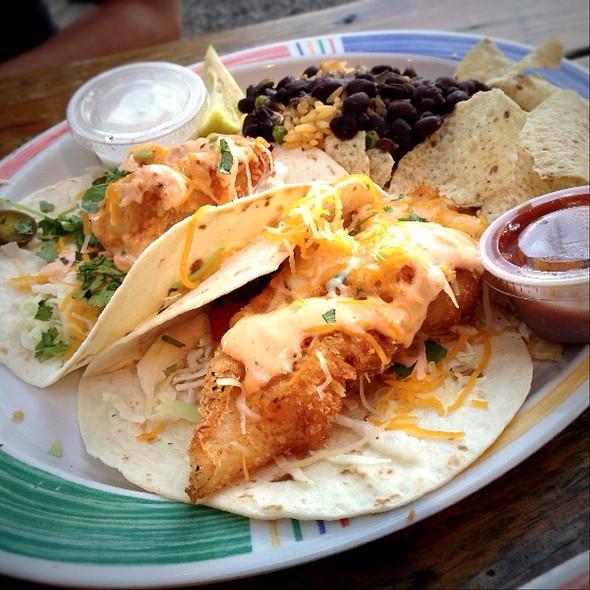 Hogfish Tacos @ Hogfish Bar & Grill