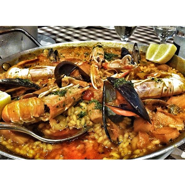 Taverna el glop menu barcelona barcelona foodspotting - Paella de pescado ...