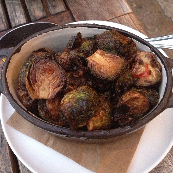 Crispy Brussels Sprouts - Saxon + Parole, New York, NY