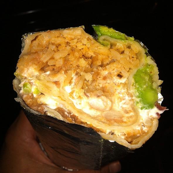 Super Veggie Burrito @ El Farolito
