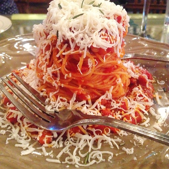 tomato and chorizo pasta @ Cerveseria