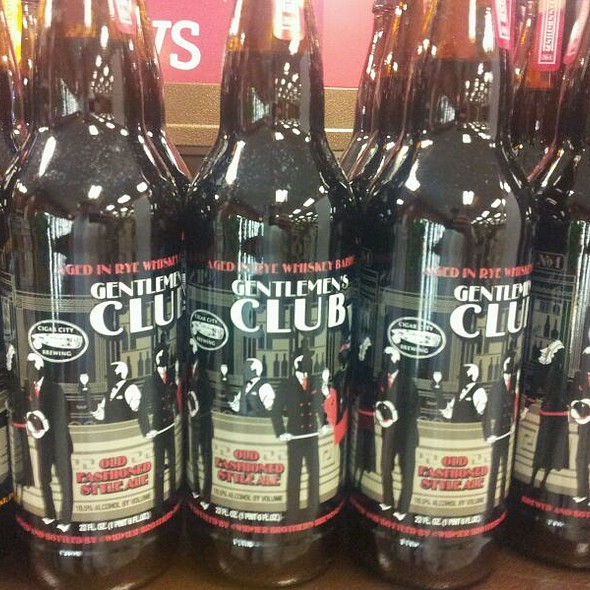 Gentlemans Club Big Bottle  @ ABC Wine and Spirits