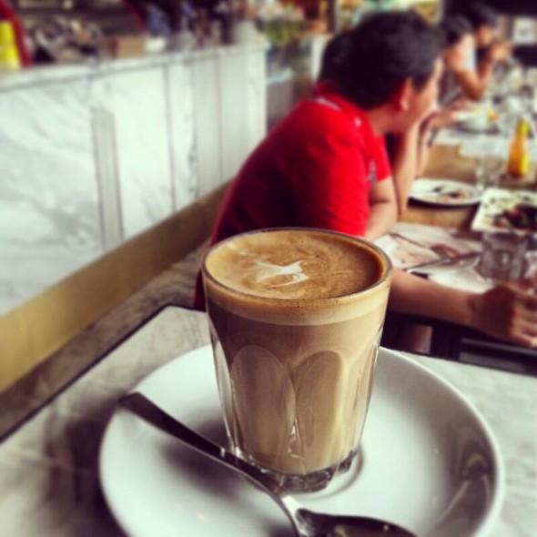 Cafe Latte @ Kith Cafe @ Quayside Isle