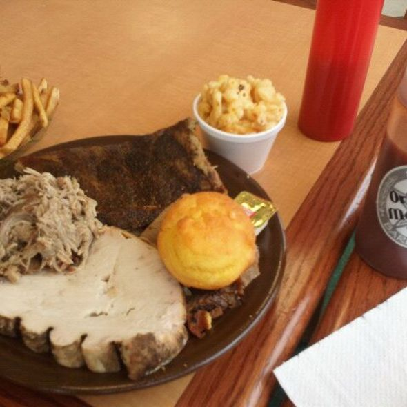 Ribs @ Selma's Texas Barbecue