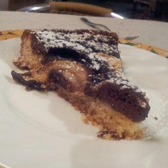 Crostata Alla Nutella E Pere @ Ristorante Pizzeria Au Caruggiu