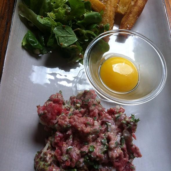 Steak Tatar With Fries @ M/S Amerika Restaurant med Bar ApS