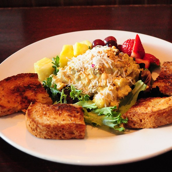 Coconut Curry Chicken Salad - Michael Forbes Bar & Grille, Kansas City, MO