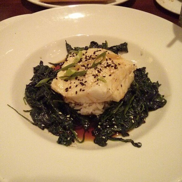 Shang Hai-style Chilean Sea Bass - Mitchell's Fish Market - Winter Park, Winter Park, FL