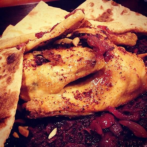 Chicken Musakhaan @kareemrestaurant !! Delicious recommendation by @kopking @fnbboy @ KAREEM Resturant