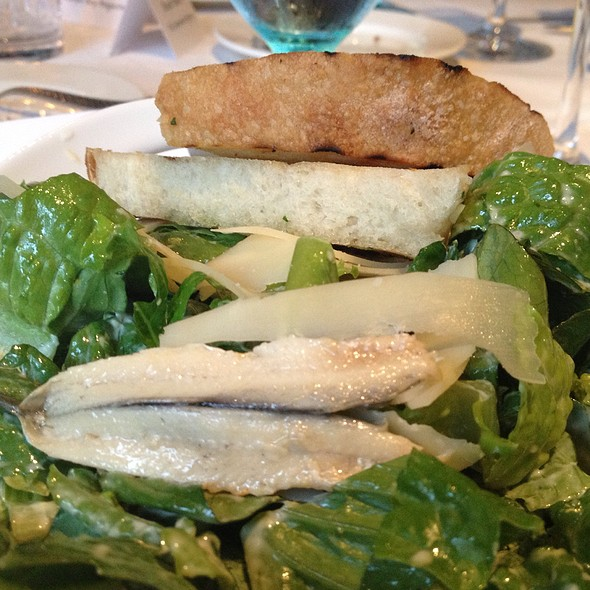 Deconstructed Caesar Salad @ Fred's