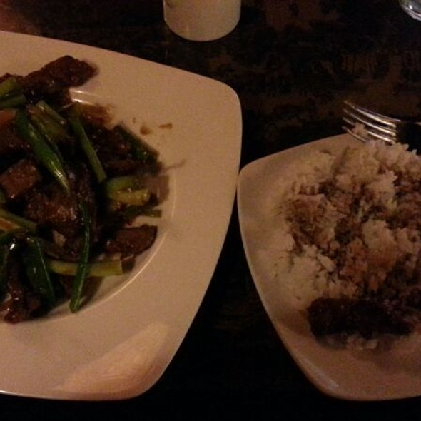 Mongolian Beef - J Wongs Thai & Chinese Bistro, Salt Lake City, UT
