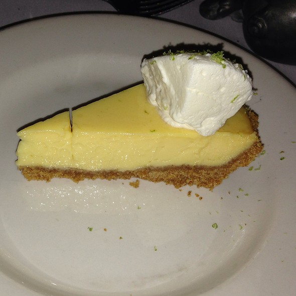 Key Lime Pie - Morton's The Steakhouse - Houston - Downtown, Houston, TX